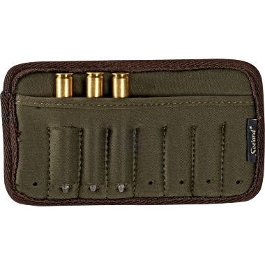 Rifle cartridge holder f/belt